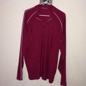 Nike golf L dri-fit shirt 1/4 zip pullover